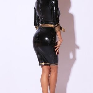 Westward Bound Dresses - Latex SUPERCILIOUS DRESS